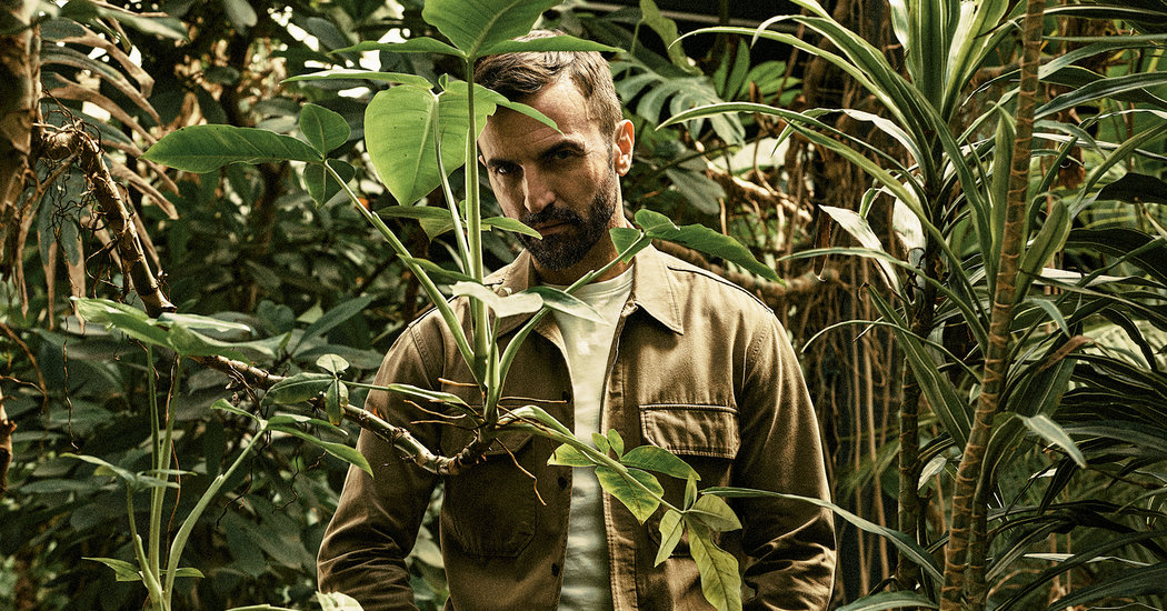 Nicolas Ghesquière Is Playing 'the Big Game'